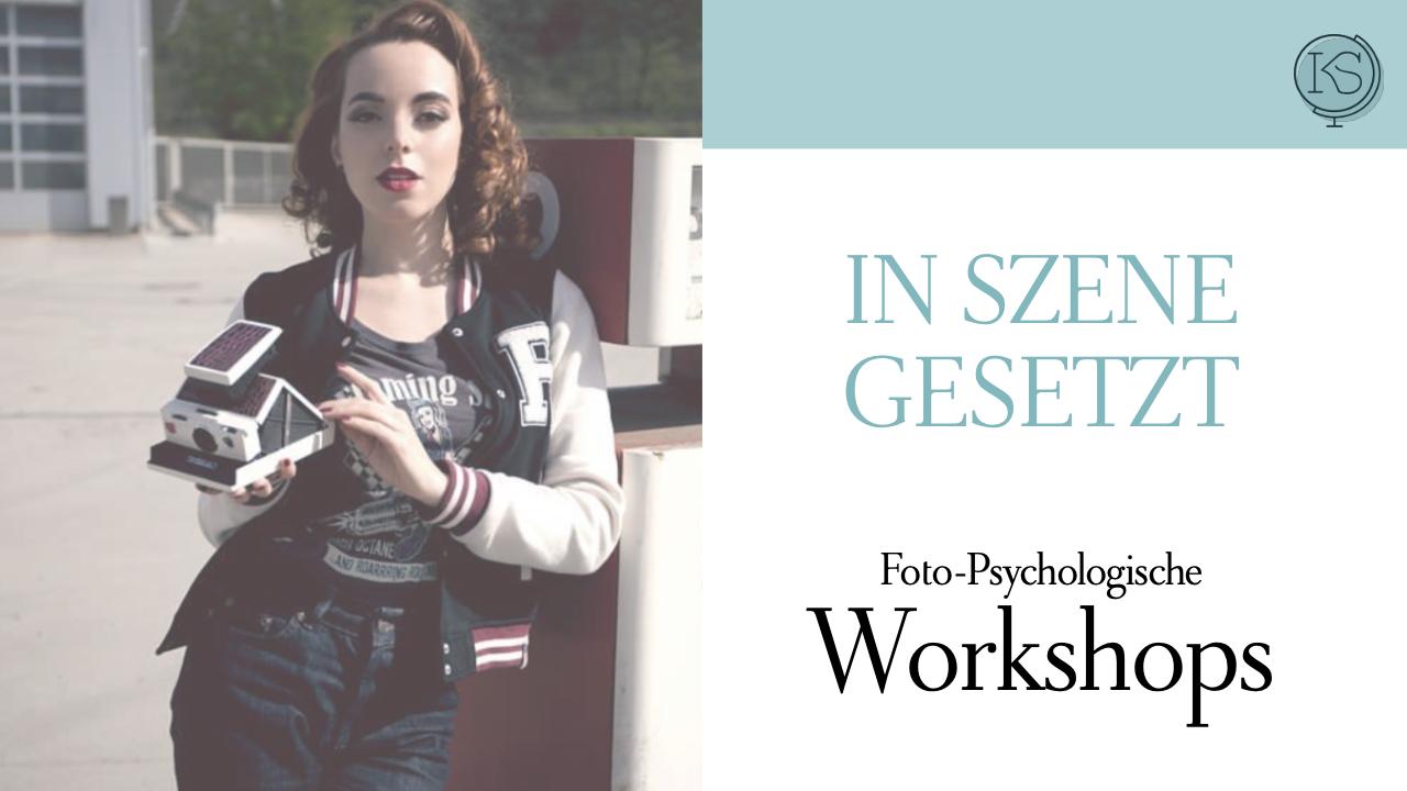 Dr. Katharina Stenger, Psychologische Onlineberatung: Workshops Seminare In Szene gesetzt
