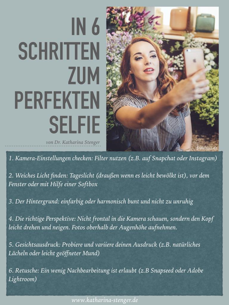 In 6 Schritten zum perfekten Selfie