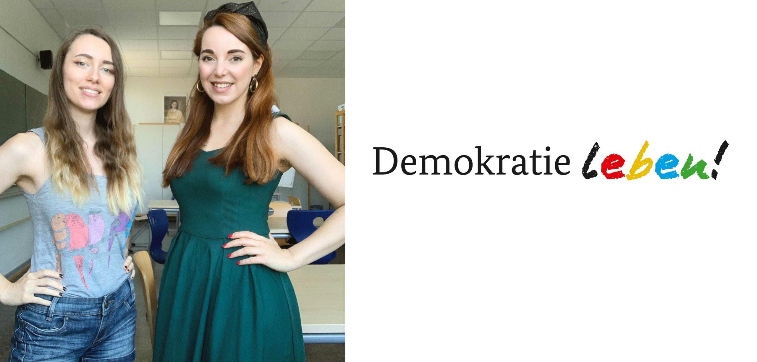 Demokratie Schreiben Federrauschen Dr. Katharina Stenger Schulprojekt